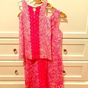 Lilly Pulitzer for target mommy and me set, 2 & 4T